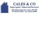Cales and Co, Hove logo