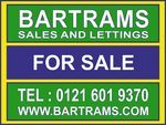 Bartrams Sales & Lettings, Stone Cross logo