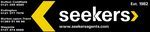 Seekers Estate Agents, Birmingham logo