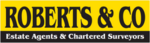 Roberts & Co. Estate Agents, Abergavenny logo