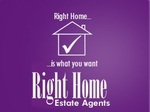 Right Home Estate Agents, Wembley logo