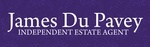James Du Pavey Independant Estate Agents, Stafford logo