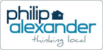 Philip Alexander Estate Agents, Hornsey logo