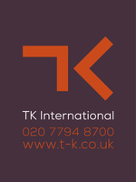 T K International logo