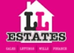 LL Estates, Colwyn Bay logo