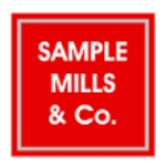 Sample Mills & Co, Newton Abbot logo