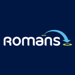 Romans, Woodley logo