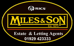 Miles and Son, Swanage logo