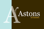 Astons of Sussex, East Wittering, West Sussex logo