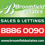 Broomfield Estates, Palmers Green logo