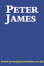 Peter James Estate Agents, Brockley logo