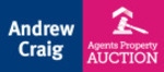 Andrew Craig Estate Agents, Auctions logo