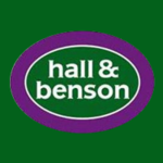 Hall & Benson, Belper logo