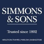 Simmons & Sons, Marlow logo