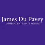 James Du Pavey Independent Estate Agents, Stone logo