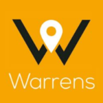 Warrens the online property store, Stockport logo