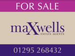 Maxwells Estate Agents, Banbury logo