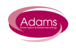 Adams Estate Agents, Winchcombe logo