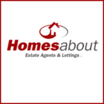 Homes About, Peterborough logo