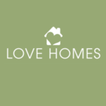 Love Homes, Preston logo