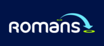 Romans, Staines Sales logo