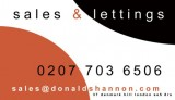 Donald Shannon Estate Agents logo