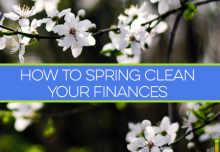 Nethouseprices guide: spring clean your finances April 2018