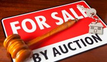 Selling residential property at auction