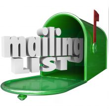 Email marketing: Taking care of your database