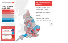 The Interactive Rent Level Changes Heat Map