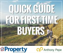 Read article First Time Buyer Quick Guide – Anthony Pepe