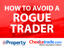 Read article How to Avoid a Rogue Trader – Checkatrade