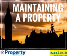 Read article Maintaining your Property – Aspect