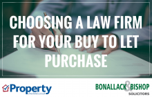 Choosing a law firm - Bonallack & Bishop
