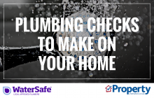 Plumbing checks to make on your home