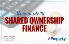 Financing a shared ownership property